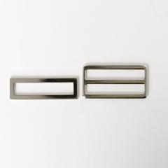 日型帶環組 銀色 50mm 2件式