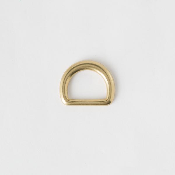 純銅半圓提耳 黃銅色 20mm 2個