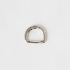 純銅半圓提耳 銀色 20mm 2個