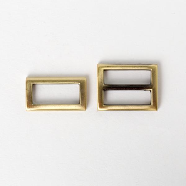 日型帶環組 銅色 25mm 2件式