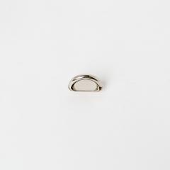 皮帶插耳 銀色 15mm 1個
