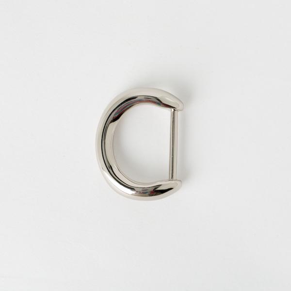 日製弧形D環 銀色 24mm