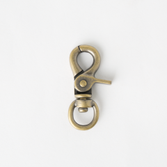 粗活動鉤 銅色 1.3cm 2個