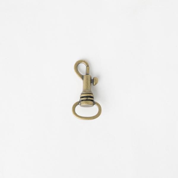 活動鉤 銅色 1.3cm 2個