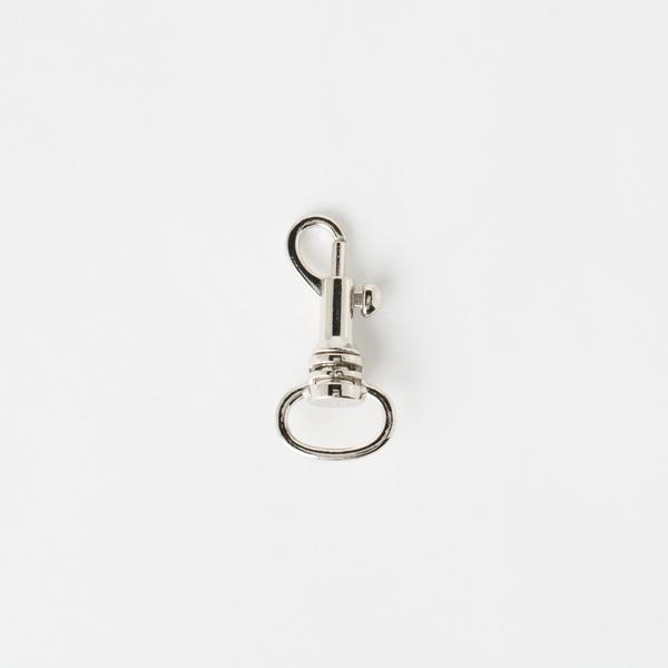 活動鉤 銀色 1.3cm 2個