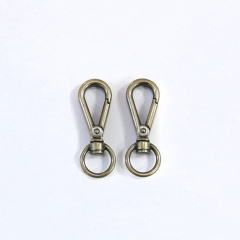 Swivel Eye Bolt Snap Antique 2 Pieces
