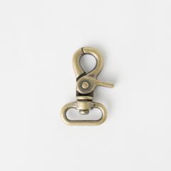 粗活動鉤 銅色 2.0cm 2個