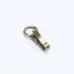 證件式活動鉤 古銅色 4.8cm內徑1.5cm 1入