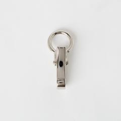 證件式活動鉤 鎳色 4.8cm內徑1.5cm 1入