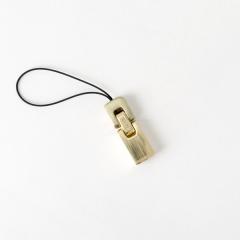 手機吊飾 銅色 F140