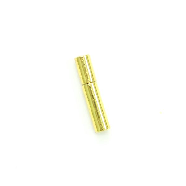 項鍊.手鍊釦 1.5mmX12.5mm 金色 5入