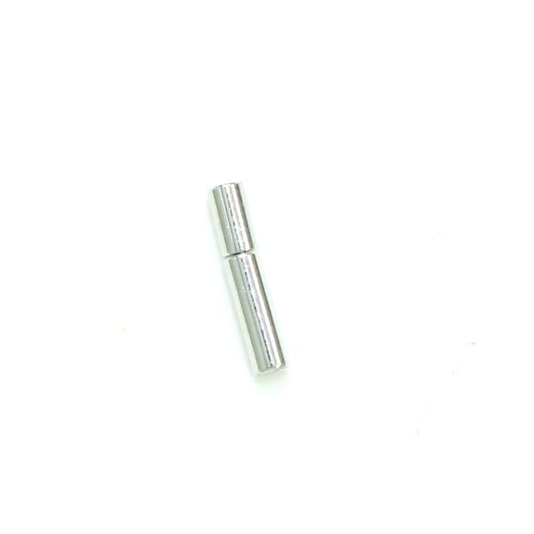 項鍊.手鍊釦 1.5mmX12.5mm 銀色 5入