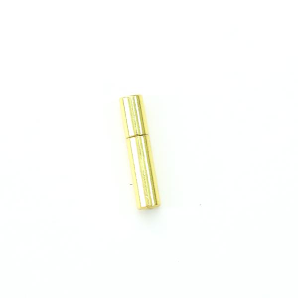 項鍊.手鍊釦 2mmX14.5mm 金色 5入