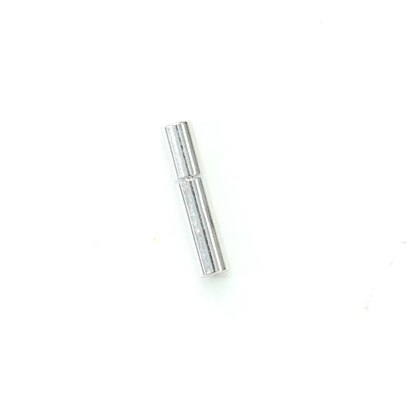 項鍊.手鍊釦 2mmX14.5mm 銀色 5入