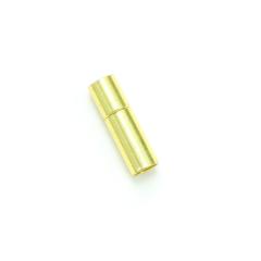 項鍊.手鍊釦 4mmX17mm 金色 5入
