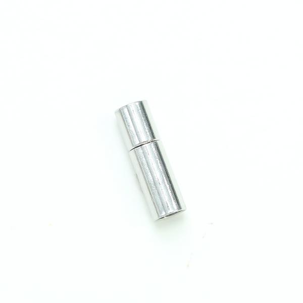 項鍊.手鍊釦 4mmX17mm 銀色 5入