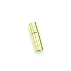 項鍊.手鍊釦 5mmX18.5mm 金色 5入