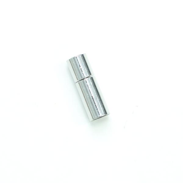 項鍊.手鍊釦 5mmX18.5mm 銀色 5入