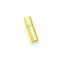 項鍊.手鍊釦 6mmX20mm 金色 5入