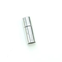 項鍊.手鍊釦 6mmX20mm 銀色 5入