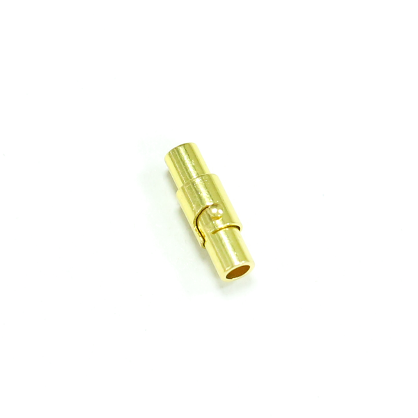 磁吸式手鍊.項鍊釦 3mmX16mm 金色 5入