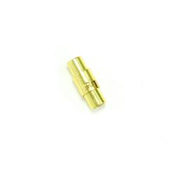 磁吸式手鍊.項鍊釦 4mmX16mm 金色 5入