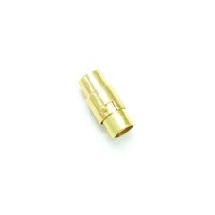 磁吸式手鍊.項鍊釦 5mmX16mm 金色 5入