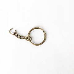 Key Ring Brass 4 Pieces