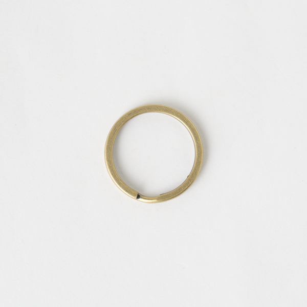 圓鑰匙環 銅色 30mm 4個