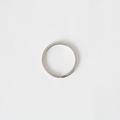 圓鑰匙環 銀色 30mm 4個