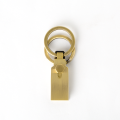 高級鑰匙釦 銅色 1.5cm