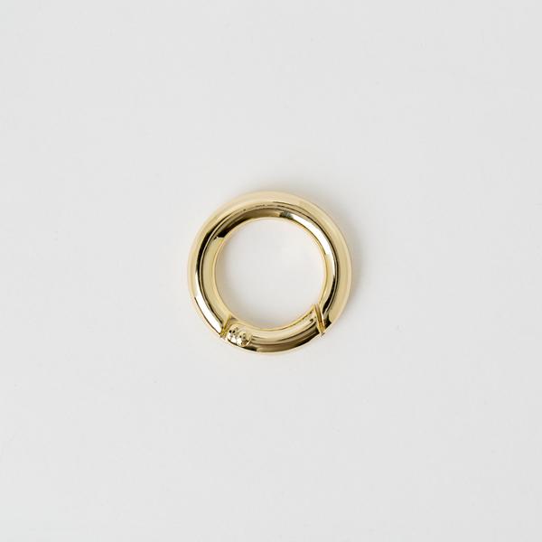 鑰匙圈 金色 18mm