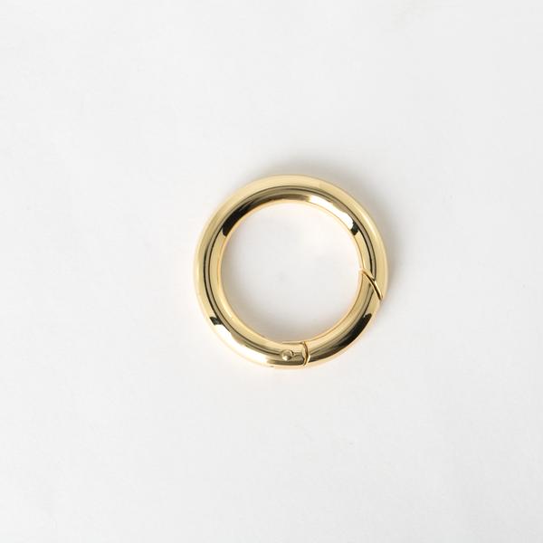鑰匙圈 金色 25mm