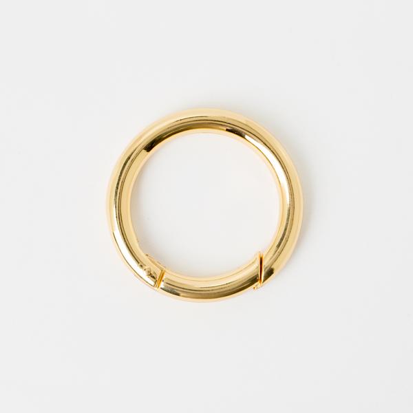 鑰匙圈 金色 35mm