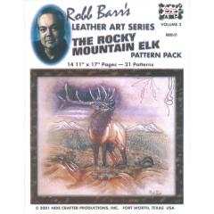 羅伯麋鹿圖案紙型