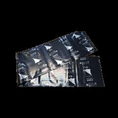 黑色塑膠袋 小 20x160cm