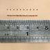 不鏽鋼十圓孔斬 1.8/3.38mm座孔徑/間距(約略)